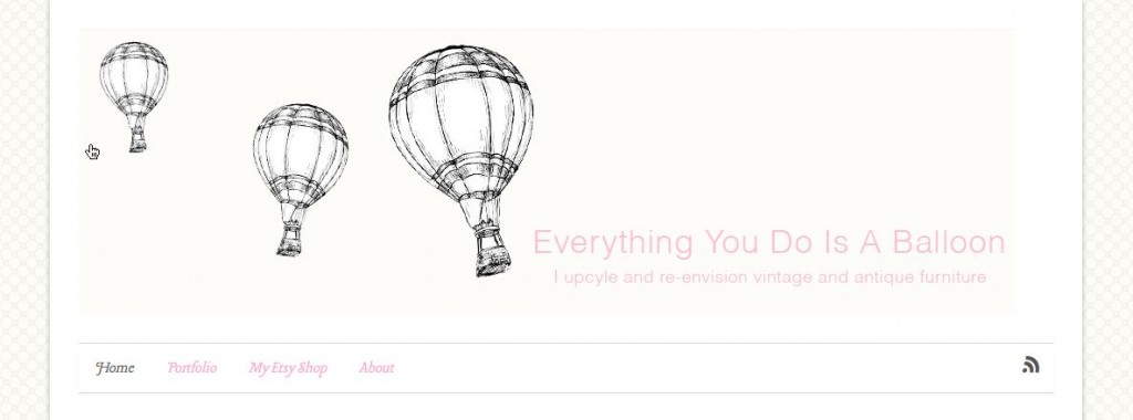 Everything You Do Is A Balloon Blog