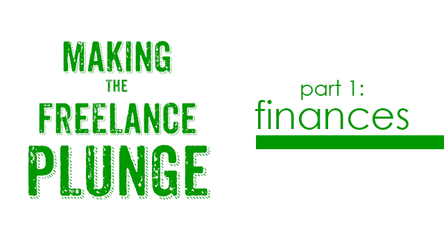 making the freelance plunge | fine lime designs