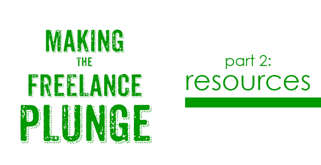 Making the Freelance Plunge - Resources | Fine Lime Designs