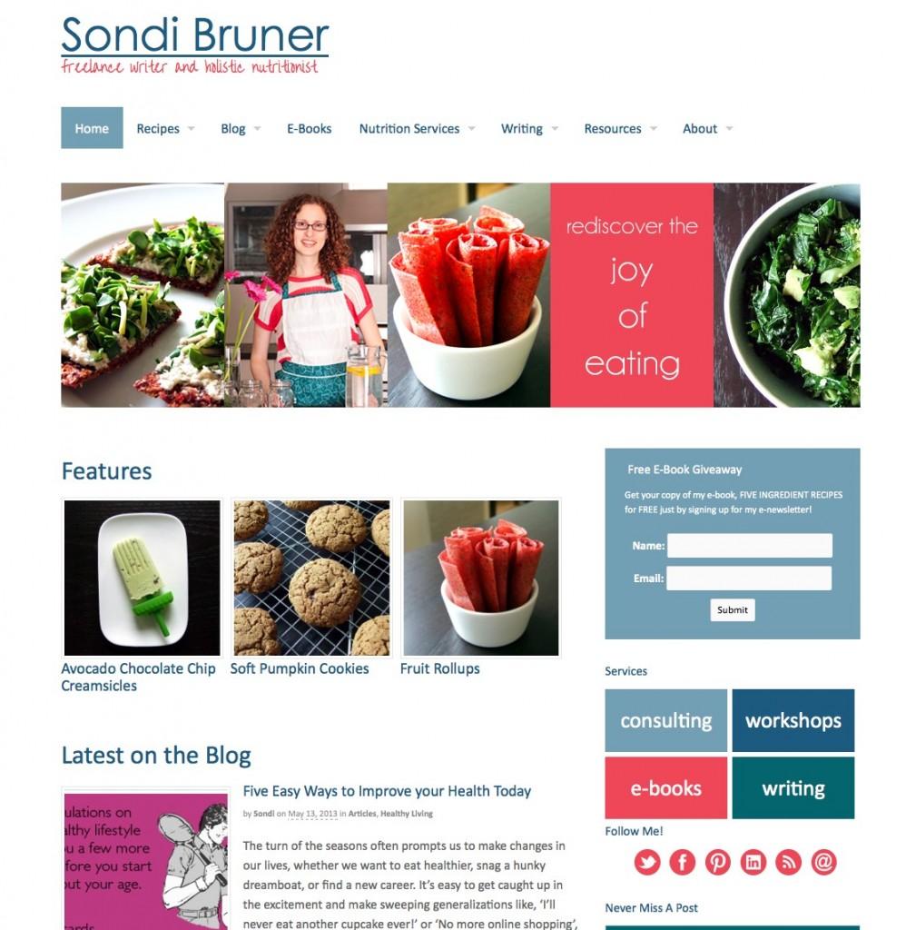 sondibruner.com screenshot