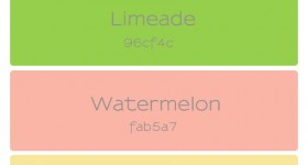 Summer Refresh Palette | www.finelimedesigns.com