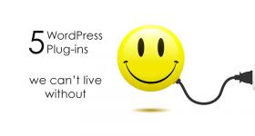 5 WordPress Plug-ins we love | www.finelimedesigns.com