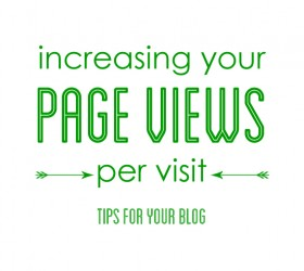 Increasing Your Page Views per Visit: Tips for Your Blog | www.finelimedesigns.com