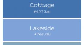 Cottage Life Palette | www.finelimedesigns.com